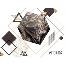 "Sketchbook 48 pages 197х145mm ""Cube"""