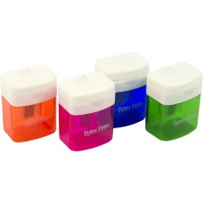 Single Sharpener with container Peppy Pinto B-23