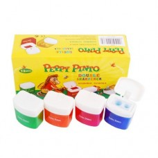 Double Sharpener with container Peppy Pinto B-24