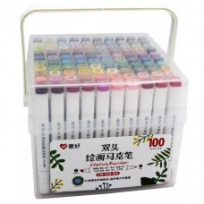 Sketch markers set Aihao 100 colors PM508-100