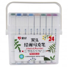 Sketch markers set Aihao 24 colors PM508-24