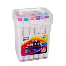Sketch markers set Aihao 24 colors PM514-24