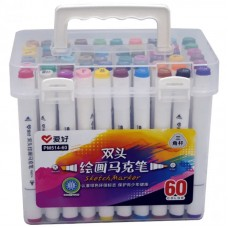 Sketch markers set Aihao 60 colors PM514-60