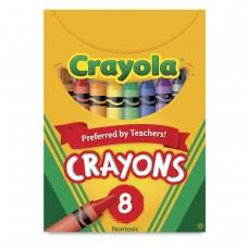 Wax pastel Crayola 8 colors