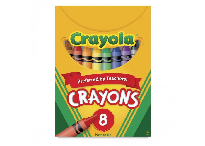 Wax pastel Crayola 8 colors