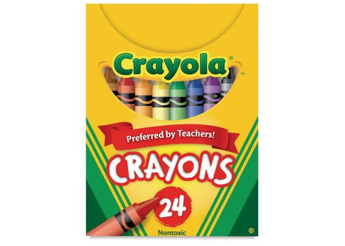 Wax pastel Crayola 24 colors