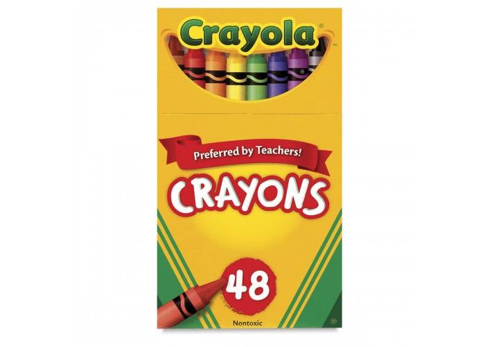 Wax pastel Crayola 48 colors
