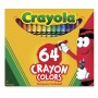 Wax pastel Crayola 64 colors