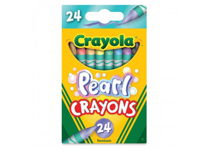 Wax pastel Crayola Pearl 24 colors