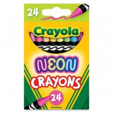 Wax pastel Crayola Neon 24 colors