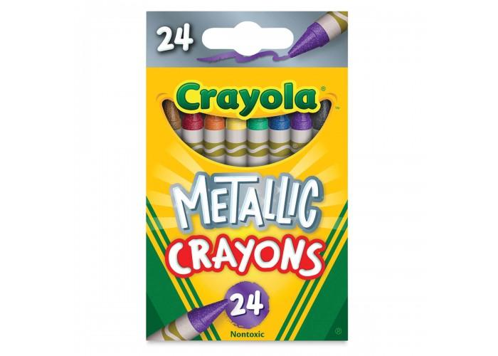 Wax pastel Crayola Metallic 24 colors