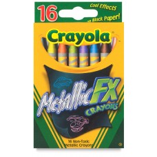 Wax pastel Crayola Metallic FX 16 colors