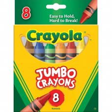 Wax pastel Crayola Jumbo 8 colors