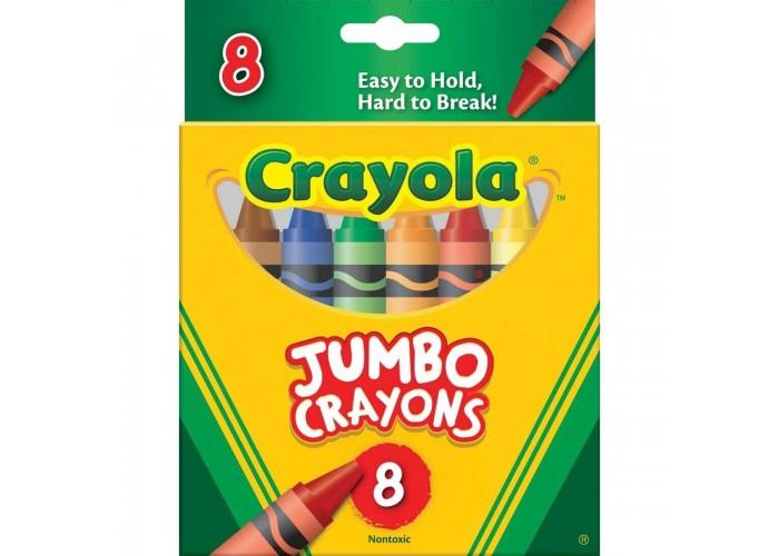 Wax pastel Crayola Jumbo 8 colors