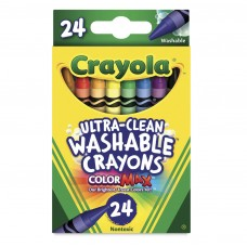 Wax pastel Crayola Washable 24 colors