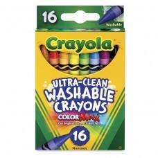 Wax pastel Crayola Washable 16 colors