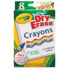 Wax pastel Crayola Dry Erase 8 colors