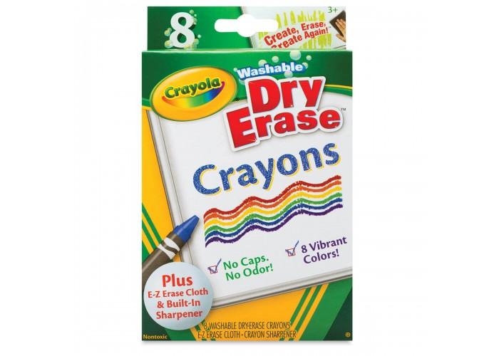 Wax pastel Crayola Dry Erase 8 colors