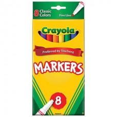 Felt tip markers Crayola Classic 8 colors