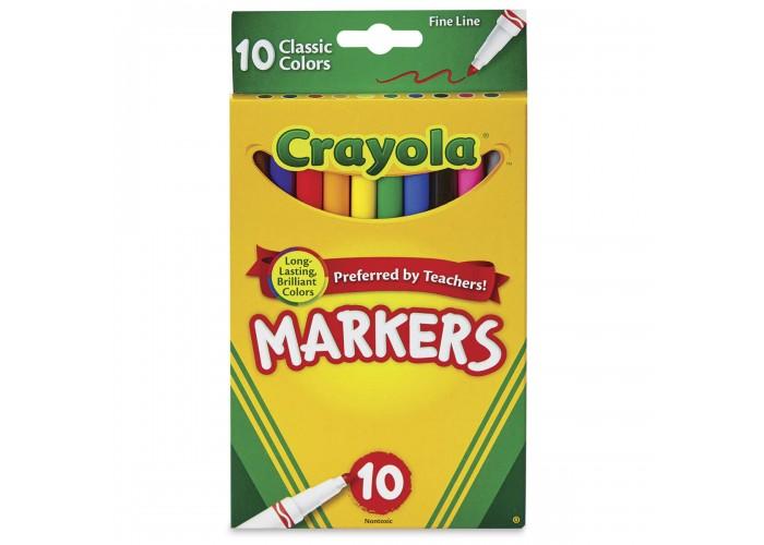 Felt tip markers Crayola Classic 10 colors