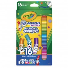 Felt tip markers Crayola Pip Squeaks small 16 colors