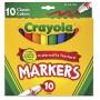 Felt tip markers Crayola Classic broad 10 colors