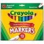 Felt tip markers Crayola Classic broad 12 colors