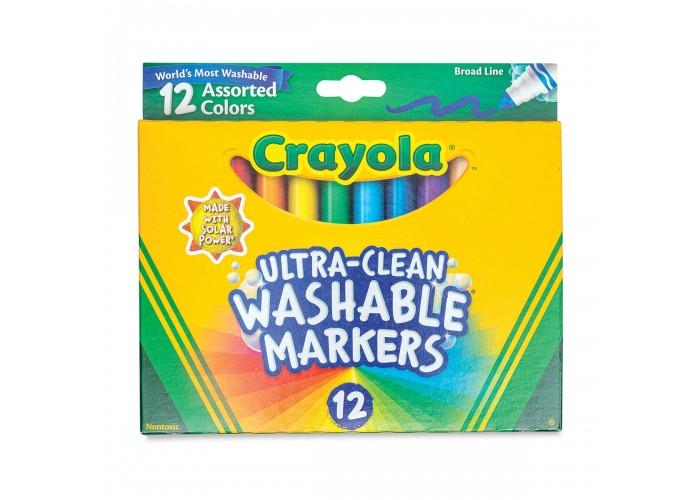 Felt tip markers Crayola Washable broad 12 colors
