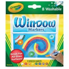 Felt tip markers Crayola Window 8 colors