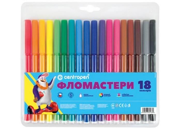 Felt tip markers Centropen 18 colors (7790-18)