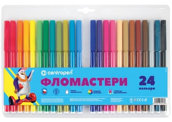 Felt tip markers Centropen 24 colors (7790-24)
