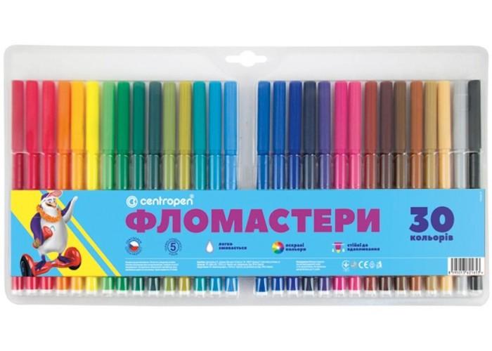 Felt tip markers Centropen 30 colors (7790-30)