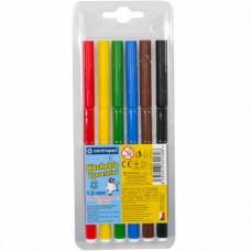 Felt tip markers Centropen 6 colors (7790-06)