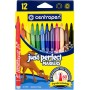 Felt tip markers Centropen Just Perfect 12 colors (2510-12)