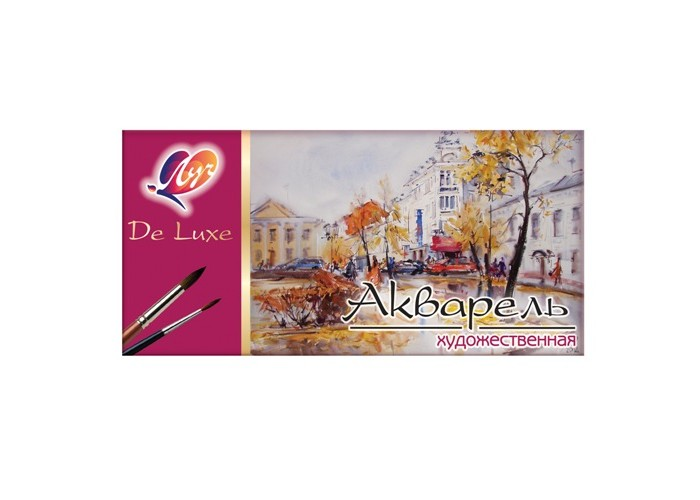 """Watercolor Luch """"Lux"""" 24 colors"""
