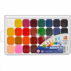 """Watercolor Luch """"Classic"""" 32 colors"""