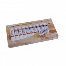 "Oil paint set Nevskaya Palitra ""Ladoga"" 10 colors 46ml"