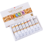 "Acrylic paint set Nevskaya Palitra ""Decola"" metallic 8 colors 20ml"