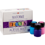 "Acrylic paint set Nevskaya Palitra ""Decola"" matte 12 colors 20ml"