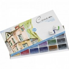 "Watercolor paint set Nevskaya Palitra ""Sonnet"" 24 colors"