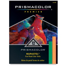 Hard pastel Prismacolor NuPastel 12 colors