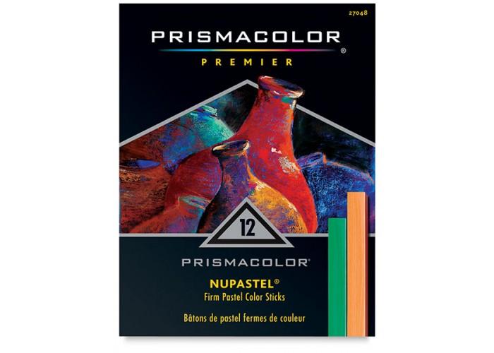 Dry pastel Prismacolor NuPastel 12 colors