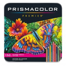 Colored pencils Prismacolor Premier 132 colors in metallic case