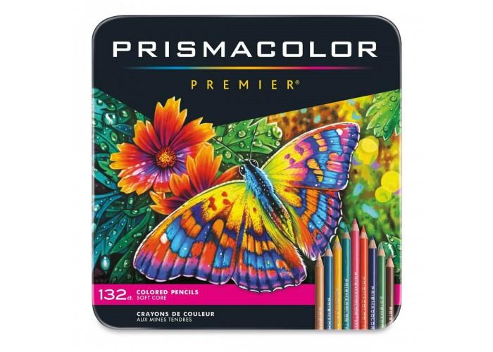 Colored pencils Prismacolor Premier 132 colors in metallic case