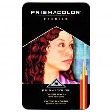 Colored pencils Prismacolor Premier 36 colors in metallic case