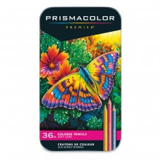 Colored pencils Prismacolor Premier 36 colors in metallic case