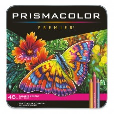 Colored pencils Prismacolor Premier 48 colors in metallic case