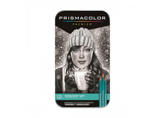 Turquoise pencils Prismacolor 9B-H - 12 pieces