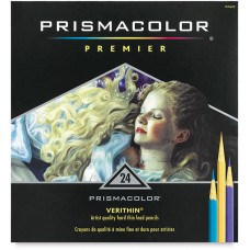 Colored pencils Prismacolor Verithin 24 colors