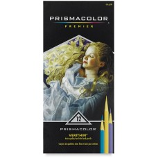 Colored pencils Prismacolor Verithin 12 colors